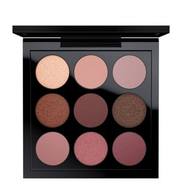 M·A·C Eye Shadow Burgundy X 9 Times Nine - Paleta de Sombra