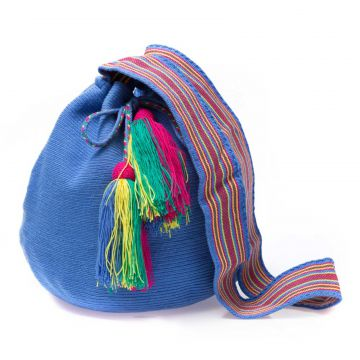 Bolsa Saco Sneak Peek Colombiana Azul Sneak Peek