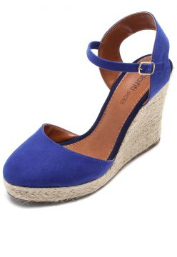 Sandália DAFITI SHOES Espadrille Azul DAFITI SHOES