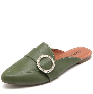 378dd69596 Mule DAFITI SHOES Argola Verde DAFITI SHOES