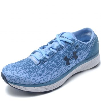 Tênis Under Armour W Charged Bandit 3 Ombre Azul Under Armo
