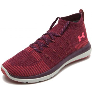 Tênis Meia Under Armour W Slingflex Mid Vinho Under Armour