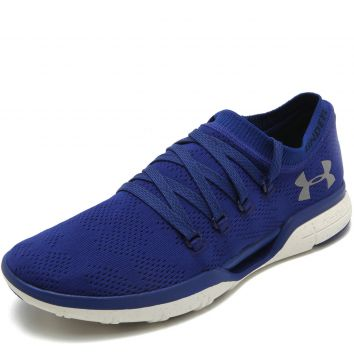 Tênis Meia Under Armour Wcharged Coolswitch Rfrsh Azul Unde