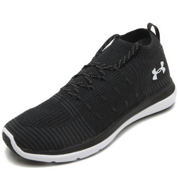 Tênis Meia Under Armour W Slingflex Mid Preto Under Armour