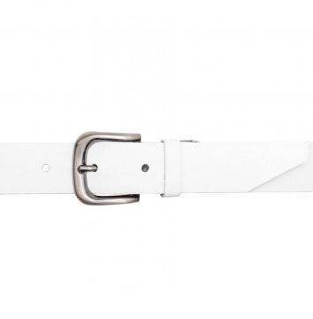 Cinto Corazzi Leather Deluxe Branco Corazzi Leather Deluxe