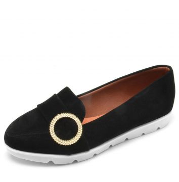 Mocassim DAFITI SHOES Argola Preto DAFITI SHOES