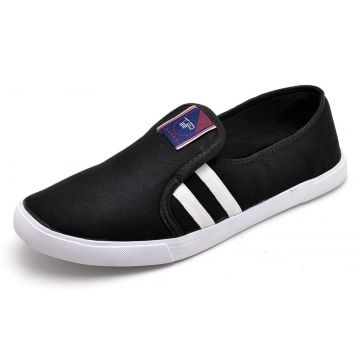 Tênis Casual Slip On GTS Preto GTS
