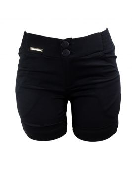 Short Bella Grife Social Preto Bella Grife