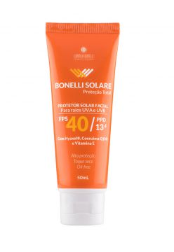 Protetor Solar Facial Bonelli Solare Be Belle 50ml Be Belle