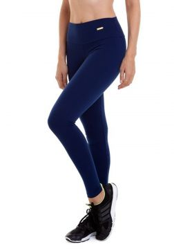 Calça Best Fit Legging Supplex Azul Marinho Best Fit