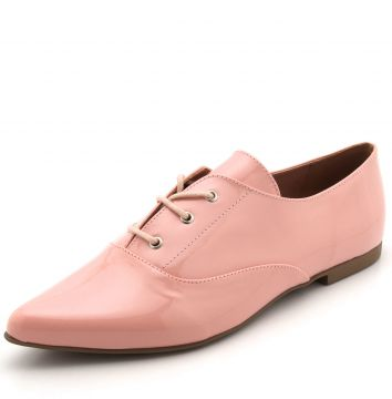 Oxford DAFITI SHOES Verniz Rosa DAFITI SHOES