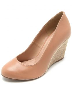 Scarpin DAFITI SHOES Corda Nude DAFITI SHOES