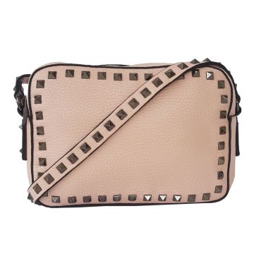 Bolsa Bag Dreams Lara Com Spikes Rosê Bag dreams