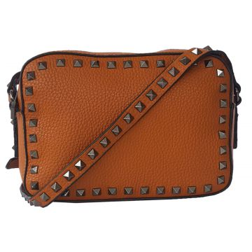 Bolsa Bag Dreams Lara Com Spikes Caramelo Bag dreams