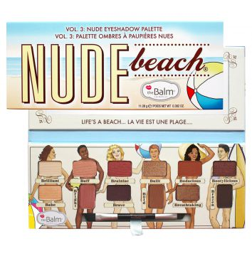 Paleta de Sombras Nude Beach The Balm