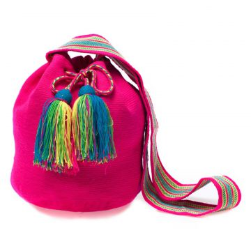 Bolsa Saco Sneak Peek Colombiana Rosa Sneak Peek