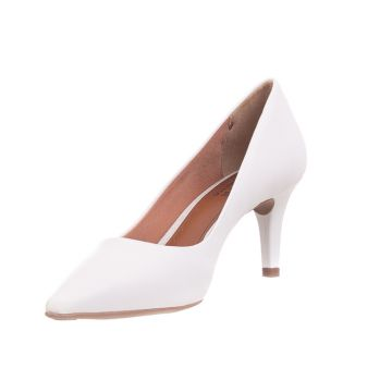 Scarpin Butique de Sapatos Napa Branco Butique de Sapatos