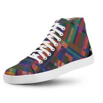 1c32a21f8 Tênis Usthemp Long Vegano Casual Art Multicolor Multicolori