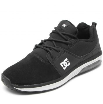 Tênis DC Shoes Heathrow Ia Imp Preto DC Shoes