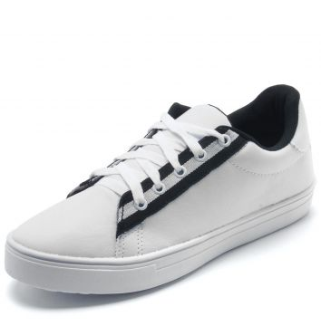 Tênis DAFITI SHOES Liso Branco DAFITI SHOES