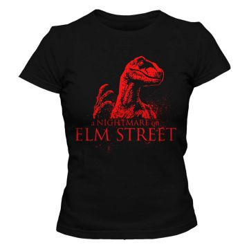 Camiseta Blitzart Nightmare on Raptor Street - Preta Blitza