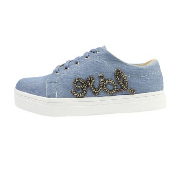 Tenis Hope Shoes Pedraria Love Jeans Hope Shoes
