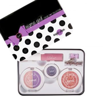 Kit Monisatti Maquiagem Color Pop Sugar Plum Monisatti
