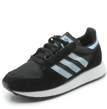 a7197d62301 Tênis Couro adidas Originals Forest Grove W Preto adidas Or
