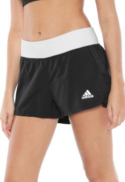 Short adidas Performance 2in1 Nov Preto/Branco adidas Perfo