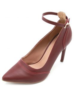 Scarpin DAFITI SHOES Liso Vinho DAFITI SHOES