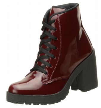 Bota Encinas Leather Verniz Vinho Encinas Leather