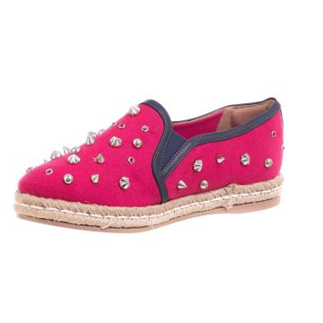 Alpargata Butique de Sapatos Pink Spikers Butique de Sapato