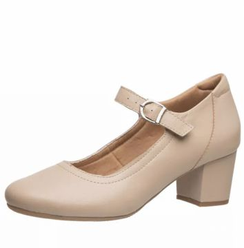 Sapato Doctor Shoes 287 Bege Doctor Shoes