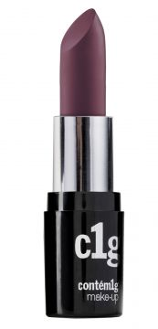 Batom Contém1g Make-up C1g Alabama Cremoso 3gr + Roxo CONTÉ