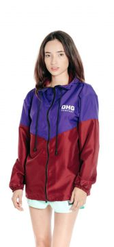 Jaqueta Corta Vento DHG Clothing Purple Wine Premium DHG Cl