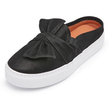 Tênis Casual Slip On CRISTAISHOES Preto CRISTAISHOES