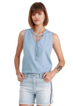 Blusa Sideral Jeans Destroyed Sideral