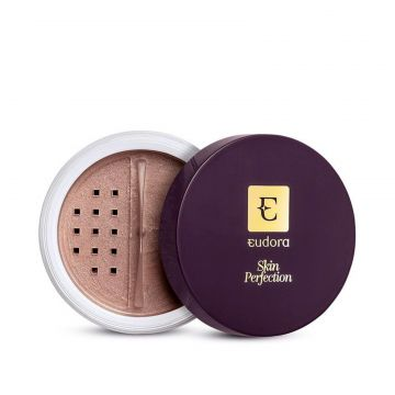 Iluminador Eudora Facial Skin perfection marrom Eudora