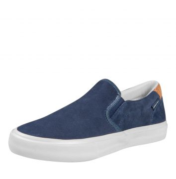 Slip On Mary Jane Slip Suede Marinho Mary Jane