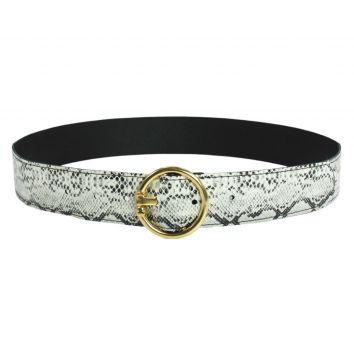 Cinto Higher Snake Circle Belt Sintetico Higher