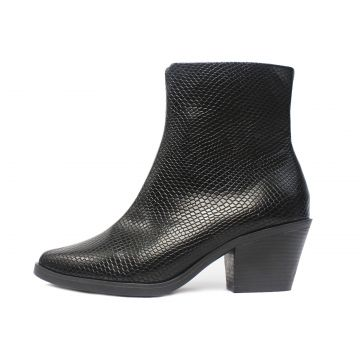 Bota Damannu Shoes Juliet Phyton Preto Damannu Shoes