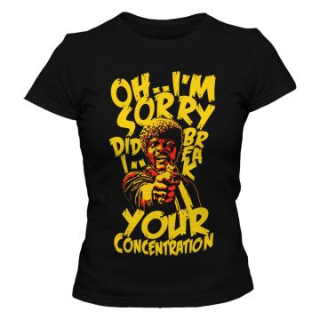 Camiseta Blitzart Break Your Concentration - Preta Blitzart