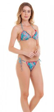 Trikini Bio Beachwear Ripple Flamingo Bio Beachwear