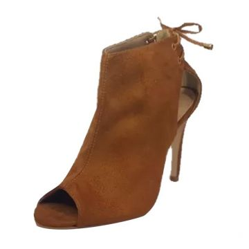 Ankle Boot Summer Week Shoes Salto Alto Caramelo Week shoes