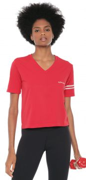 Camiseta Lupo Sport Af Cropped Act Vermelha Lupo Sport