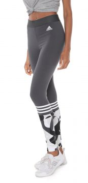 Legging adidas Performance W Sid Tight Aop Cinza adidas Per
