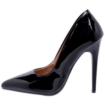 Scarpin Eagle Black Salto Alto Preto Eagle Black