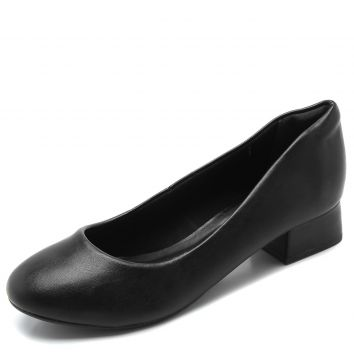 Scarpin DAFITI SHOES Liso Preta DAFITI SHOES
