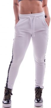 Calça De Moletom Advance Clothing Design Branco Advance Clo