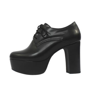 Bota Damannu Shoes Ariana Napa Preto Damannu Shoes
